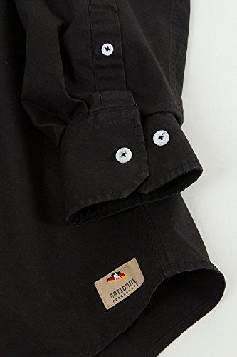 JP 1880 Homme Grandes tailles Chemise 700966 Noir