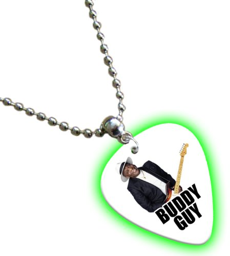 Buddy Guy Glow Gitarre Pick Kette Band Plektron (Buddy Guy-guitar Pick)