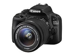 Canon Eos 100d Digital Slr Camera (Ef-s 18-55 Mm F3.5-5.6 Is Stm Lens, 18 Mp, Cmos Sensor, 3 Inch Lcd)