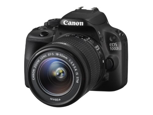 Canon EOS 100D Digital SLR Camera (EF-S 18-55 mm f/3.5-5.6 IS STM Lens, 18 MP, CMOS Sensor, 3 inch LCD)