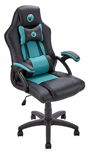 Nacon PCCH-300 - Silla de gaming, 73.6 x 55.1 x 31.6 cm, color negro