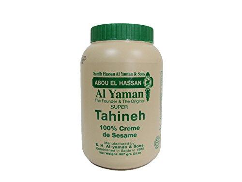 Al Yaman libanés Original Sésamo Tahini 454g / 16 oz.