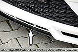 Rieger Spoilerschwert schwarz matt mittig für Spoilerlippe 27010 für Seat Leon (5F): 10.12-12.16 (bis Facelift)