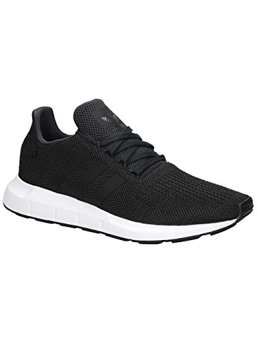 adidas Herren Swift Run Gymnastikschuhe, Grau (Carbon S18/Core Black/Medium Grey Heather), 43 1/3 EU (Turnschuhe Adidas-klassische)