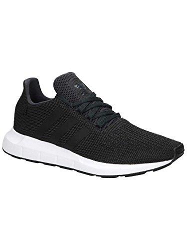 adidas Herren Swift Run Gymnastikschuhe, Grau (Carbon S18/Core Black/Medium Grey Heather), 43 1/3 EU (Adidas-klassische Turnschuhe)