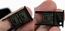 Sim Card Tray Holder for Motorola Moto X Style - Black