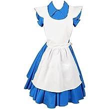 Blaues kleid alice im wunderland