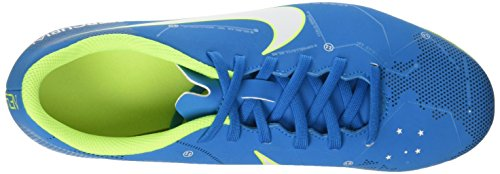 Nike Mercurial Vortex Iii Njr Fg, Chaussures de Football Homme Turquoise (Blue Orbit/white/blue Orbit/armory Navy/volt/volt)