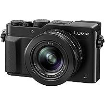 "Panasonic DMC-LX100EGK - Cámara compacta de 12.8 Mp (pantalla de 3"", zoom óptico 3.1x, estabilizador óptico, vídeo 4K), negro"