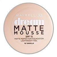Dream Matt Mousse 16 Vanilla