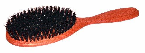 Brosse à cheveux plate - poils de sanglier