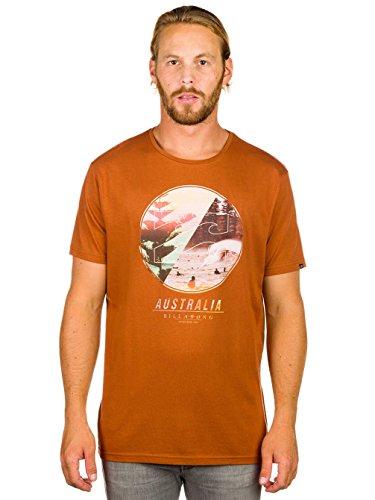 Billabong Herren T-Shirt Southern Horizon Brown - Caramel