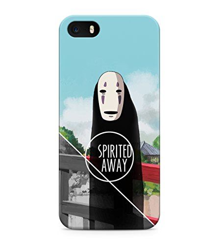 Spirited Away No Face Hard Plastic Snap On Back Case Cover For iPhone 5 / 5s Custodia