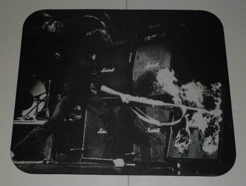 ritchie-blackmore-guitar-amp-on-fire-computer-mouse-pad