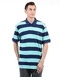 Gant Men Blue Casual T-Shirt(_8907036869255_Mint_X-Large_)