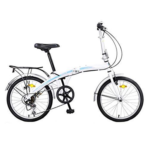 Klapprad, vordere und hintere Kotflügel, hinterer Gepäckträger und Ständer mit 7-Gang-Antrieb. Dieses hochwertige Faltrad ist ein idealer Begleiter für Ihr Leben -