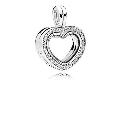 ting Heart Damen Medaillon Anhänger 925 Sterlingsilber ()