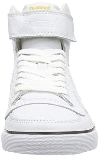 Hummel Unisex-Erwachsene Stadil Classic High-Top Weiß (White 9001)