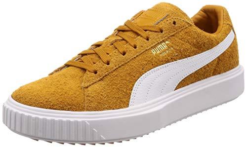 Puma breaker sneakers cammello bianco 366625-01 (42.5 - cammello)
