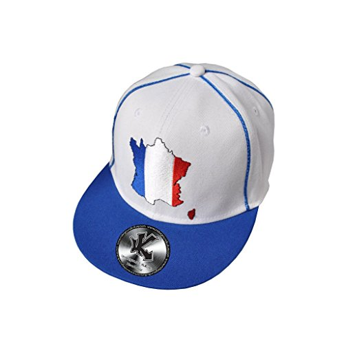 France Pays Bleu Casquette De Baseball Réglable (Snapback)