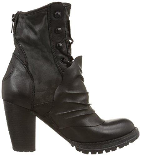 BUNKER Cav Damen Stiefel & Stiefeletten Schwarz - Schwarz (Black)