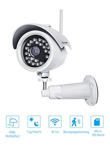 Gebraucht, Überwachungskamera WLAN IP Kamera 1080P Außen mit Nachtsicht gebraucht kaufen  Wird an jeden Ort in Deutschland