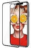 Bovon Vetro Temperato per iPhone 11, [Cornice di Installazione Semplice] [9H Hardness] [Antigraffio] [Senza Bolle] Proteggi Schermo in Pellicola a Copertura Totale 3D per iPhone 11 6.1 Pollici(2019)