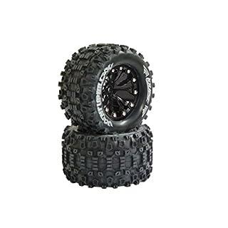 Jamara 052860 - Reifen und Felgen 1:10 MT-Uphill, 1/2OS, Louise VE 2, Verschiedene Spielwaren, 12 mm