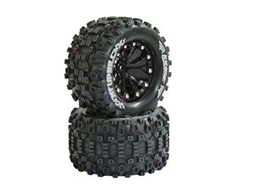 Jamara 052860-Neumáticos y Llantas 1: 10MT MT-Uphill, 1/2os, Louise VE 2, Varios Juguetes, 12mm