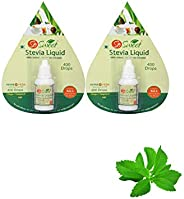 So sweet Stevia Liquid –Pack -2-800 Drops – Natural Sweetener 100% Natural Sweetener for Weight Management -Su