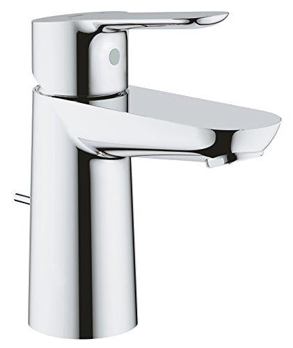 GROHE BauEdge | Bad - Waschtischarmatur | S-Size, mit Zugstange, mit EcoJoy | 23356000