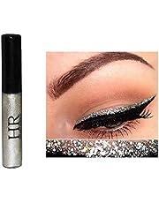Hr Metallic Glitter Shinning Shimmer Eyeliner Waterproof Gold Blue Green Pink (Silver)