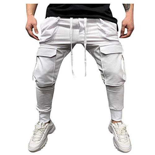 Pantalones Blancos Hombre Rotos Pantalones Vaqueros Hombre...