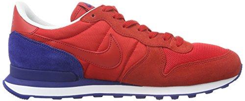 Nike - Internationalist, Chaussures De Sport Rouges Pour Hommes
