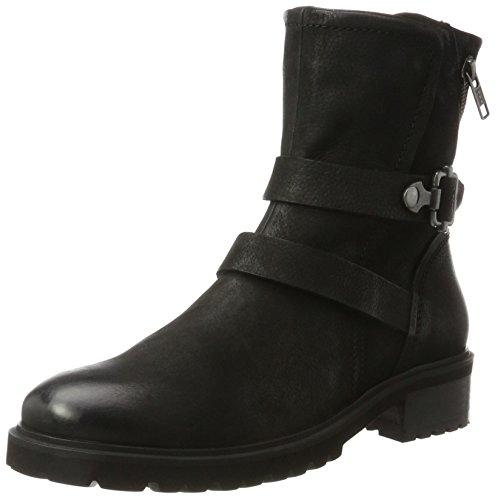 SPM - Liam Ankle Boot, Stivali da motociclista Donna nero (nero)