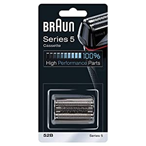 Braun Shaver Replacement Part 52B Black, Compatible with Series 5 Shavers