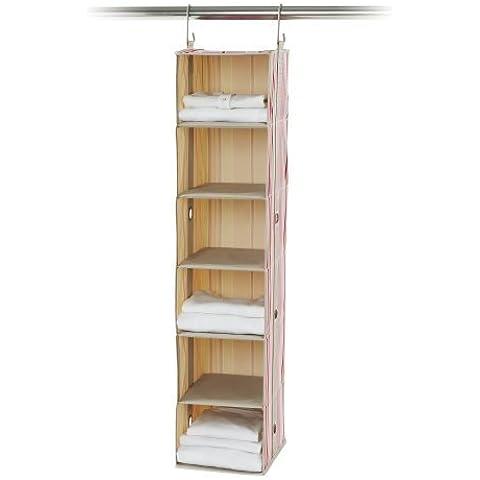 neatfreak 7129-D2 neatKids 6 Shelf Closet Organizer, Candy Taffy by neatfreak (Neatfreak Organizer)