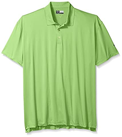Callaway pour homme Big & Tall Tissu solide Polo à manches courtes