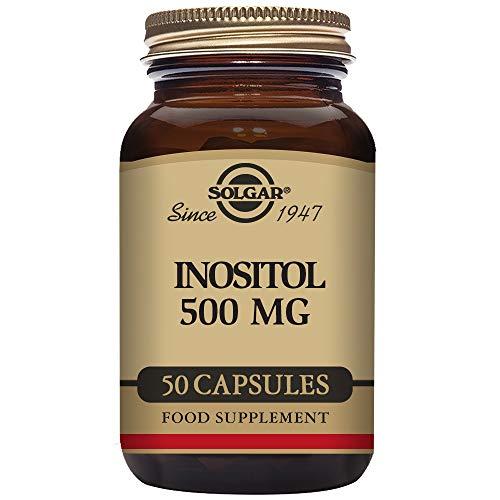 Solgar Inositol 500 mg Cápsulas vegetales - Envase de 50