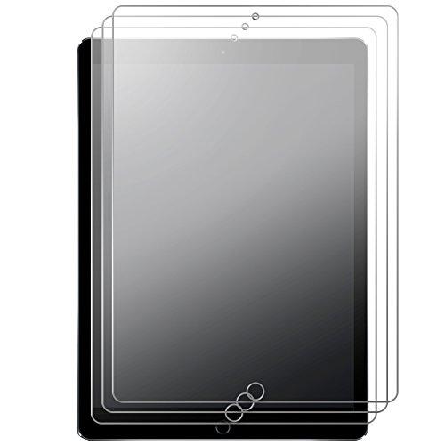 J & D Kompatibel für 3er Packung New iPad Pro 12.9in 2017 Displayschutzfolie, [Antireflektierend] [Nicht Ganze Deckung] Matte Folie Schutzschild Displayschutzfolie für New iPad Pro 12.9 inch ()