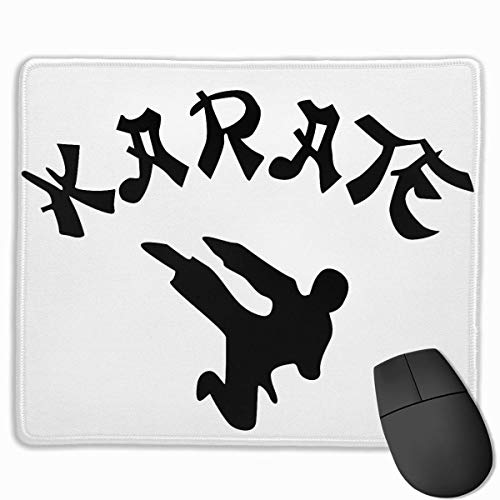 Mauspad Non-Slip Gaming Mouse Mat Custom Karate Mouse Pad Personality Designs Smooth Comfortable Touch Gaming Mousepad 25 * 30cm / 11.81