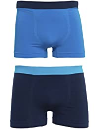 RAFF-Seamless basic boxer blue. Pack 2 units.