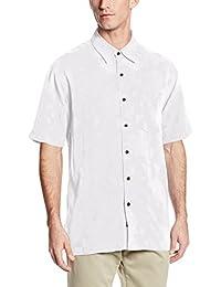 Kahala Men's La Mariana Short-Sleeve Woven Shirt