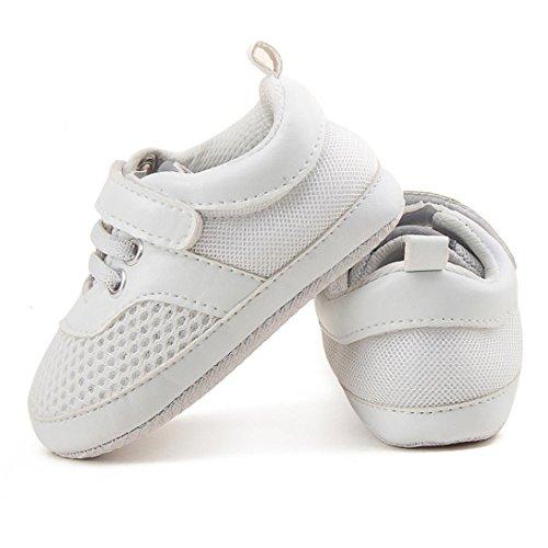 Clode® Baby Säugling Kleinkind Schuhe Jungen Mädchen Mesh Soft Sohle Turnschuh Sport Schuhe Weiß