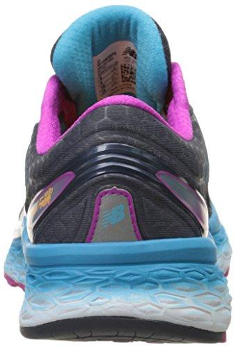 New Balance W1080v6, Chaussures de Running Compétition Femme Multicolore - Multicolor (Purple/Blue/Pink)