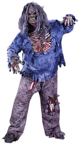 Zombie Kostüm für Herren Halloween Uomo: (Kostüm Uomo Halloween)