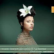 Vivaldi: Concerti Per Violino 'la Boemia'