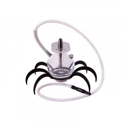 Oduman N9 Spider - Shisha - Cachimba de cristal con base de araña y LED incluido.