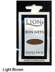 Fine Bunnets - Bun Nets for Ballet, Dance, Equine or Fashion (Light Brown)