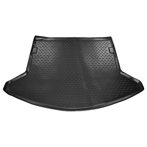 Ame - Auto-Gummiwanne Kofferraum-Matte aus Gummi für Den Laderaum, Geruch-vermindert und Passgenau